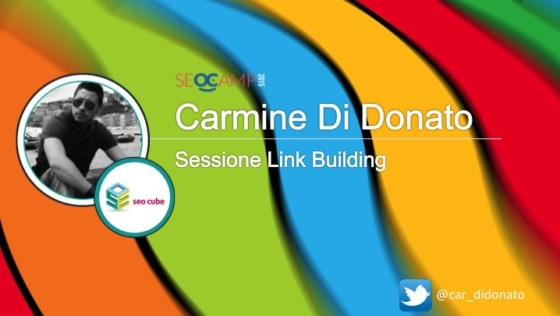 Link Building Credibile e di Qualità. SEO Camp 2015