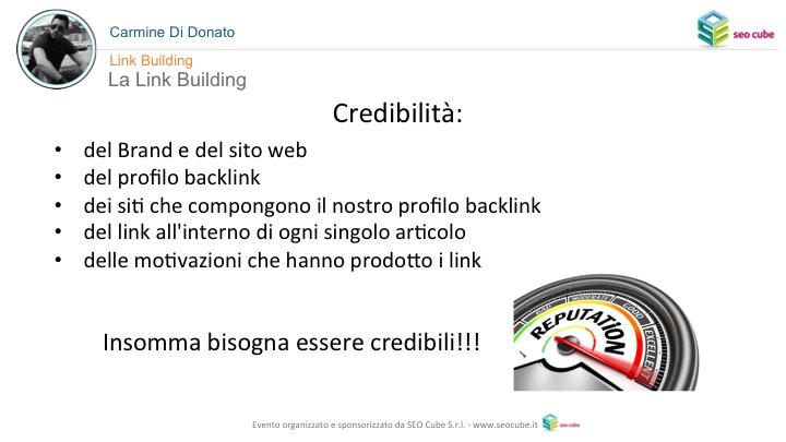 Link Building credibile